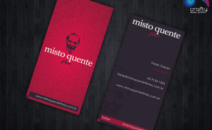 Creative Business Card Design – Misto Quente