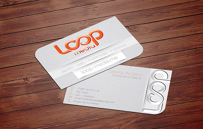 Custom Business Cards – Loop Media