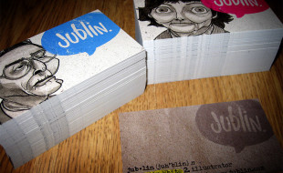 Unique and Creative Business Cards – Jublin