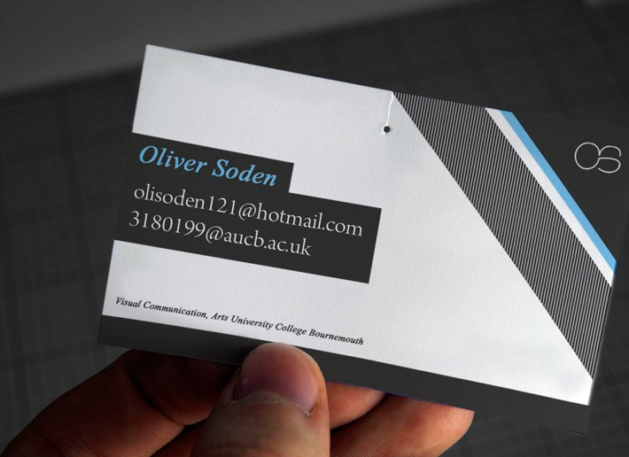 Cool Business Card – Oliver Soden