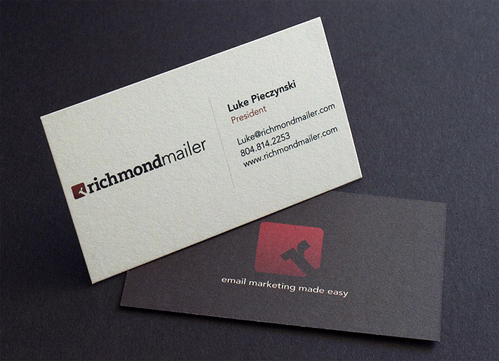 Custom Business Card – Richmond Mailer
