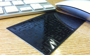 Cool Spot UV Business Card – Pixelmunki