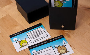 Fun and Cool Business Cards - Virtual Recreation