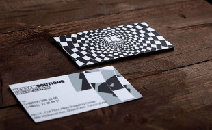 Creative Business Card – 14 Boutique