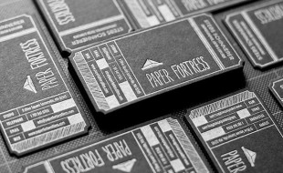 Unique LetterPress Business Cards