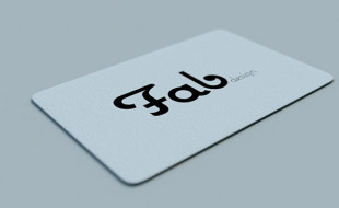 Cool Minimalistic Business Card - Fab Design