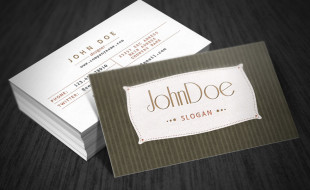 Cool Retro Business Card Design