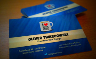 Cool Business Card – Oliver Twardowski