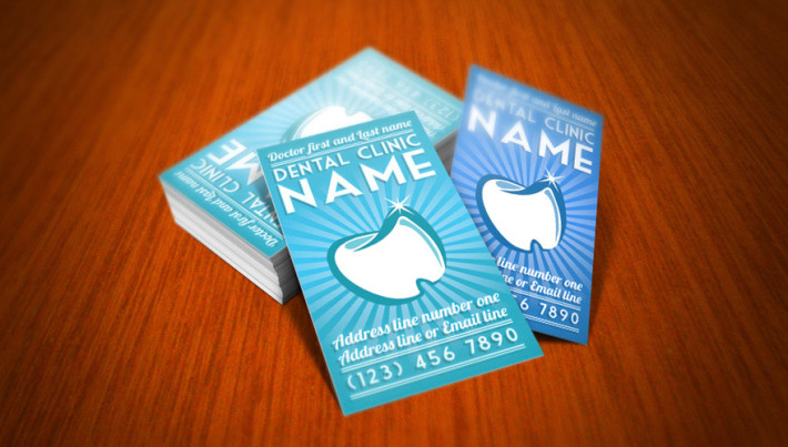 cool dentist business card template cardrabbit com
