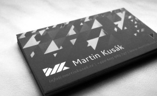 Cool UV Coated Business Cards - Martin Kusak