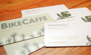 Custom Business Cards – BikeCaffe