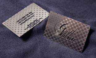 Luxury Metal Business Card – Graff Illusion