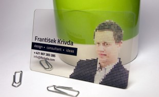 Transparent Business Card - Frantisek Krivda