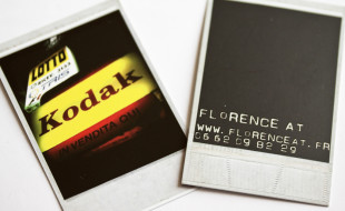 Unique Kodak Business Cards