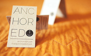 Cool Business Card – Anchored Art