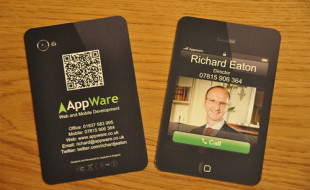 Cool Smartphone Business Card – Appware