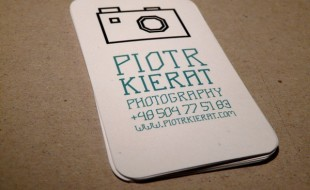 Custom Business Card – Piotr Kierat