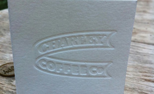 Letterpress Business Card – Charlie Coffee