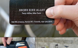 Unique Business Card – Broke Bike Alley