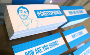 Unique Business Card – Chris Spooner