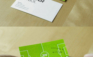 Unique Business Card – Junpiter Futbol