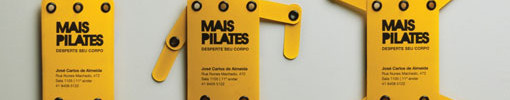 Unique Business Card - Mais Pilates Studio