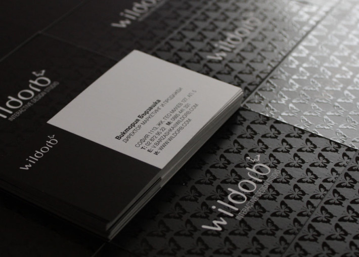 Cool Spot UV Business Card – WildOrb | CardRabbit.com