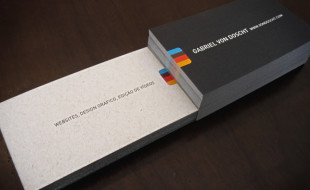 eco friendly business cards