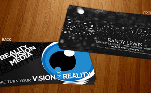 Cool Business Card Design - Randy Lewis
