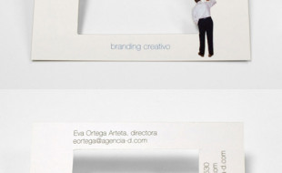 Creative Business Card – Agencia D