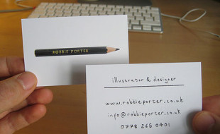 Minimalistic Business Card – Robbie Porter