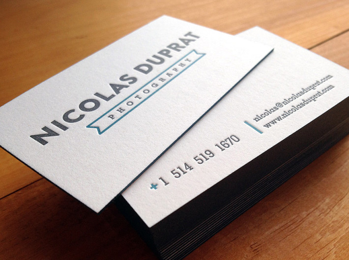 Letterpress business cards nicolas duprat cardrabbit the colourmoves