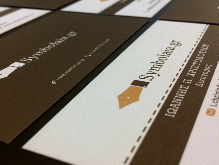 Custom Business Card – Symbolaia