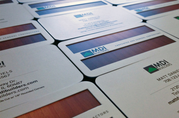 Die cut layered business cards mdi builders cardrabbit inshare colourmoves