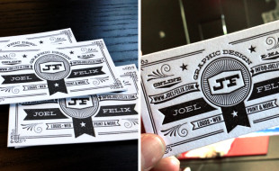 Letterpress Business Card – Joel Felix