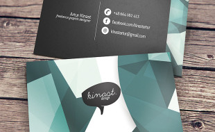 Cool Business Card – Kinast Design