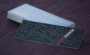 Cool Slim Business Cards - Ulano Studios
