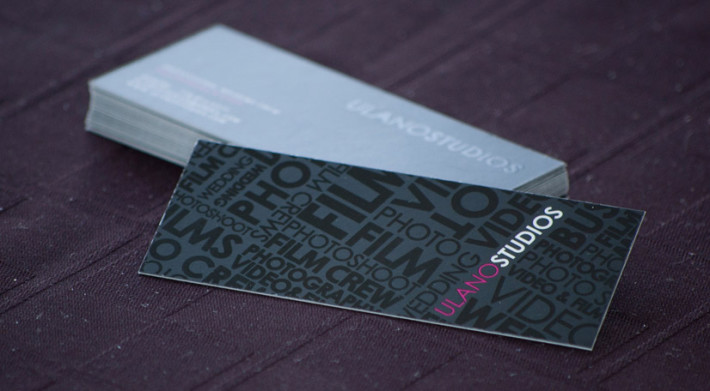 Cool slim business cards ulano studio cardrabbit inshare colourmoves