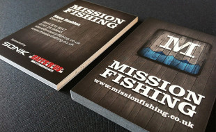 Unique Business Card - Mission Fishing