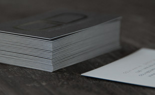 Cool Letterpress Business Card - Dimension Developments