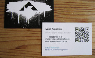 Recyclable Business Card – Mario Kyprianou