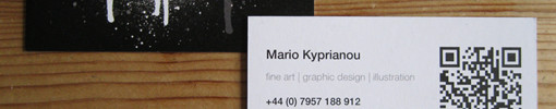 Recyclable Business Card - Mario Kyprianou