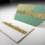 Cool Laser Cut Business Card – Chad Johnson