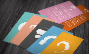 Custom Business Card Templates - Profile