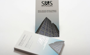 Silk Business Cards with Spot UV - S&S