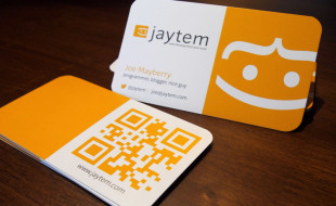 Cool QR Code Business Cards – Joe Mayberry