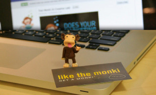 Funny Business Card – Like the Monki