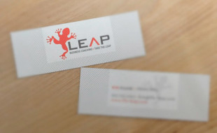 Mini Business Card – Leap