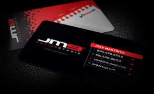 Cool Business Cards – JM9 Design