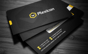 Cool Custom Business Card Template